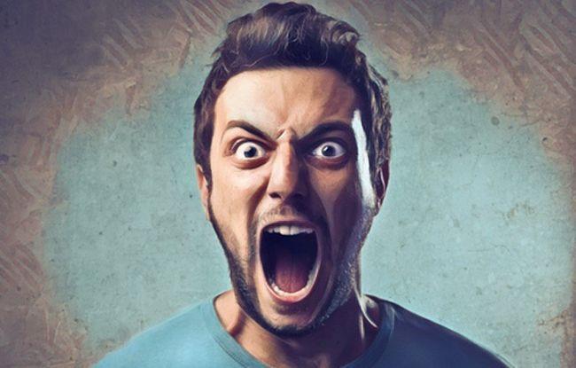 Una persona con ira que no sabe como manejarla