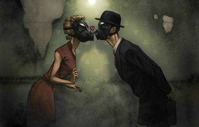 una pareja viviendo una relación tóxica