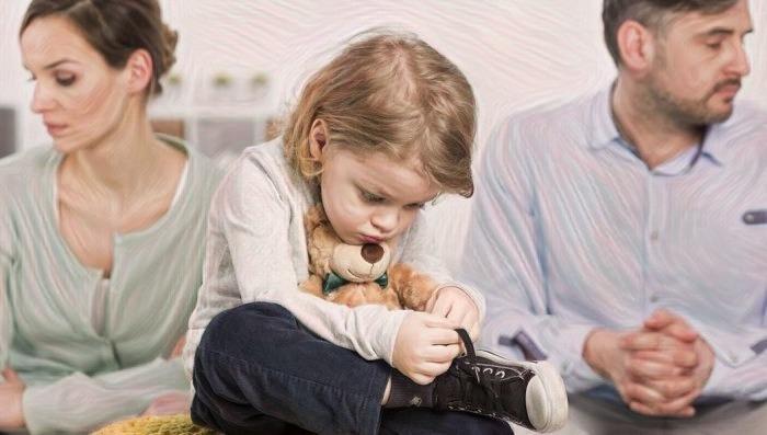 Las consecuencias del divorcio en los niños y adolescentes