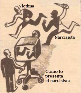 narcisistas tergiversan la historia