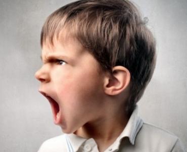 Un niño con problemas de trastorno agresivo