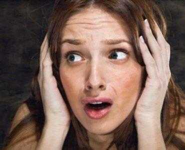 Mujer con ataques de pánico