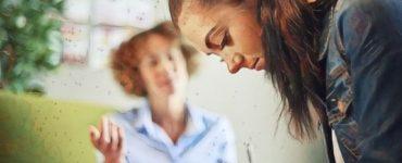Una mujer joven en la terapia psicodinamica