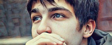 Un adolescente con baja autoestima