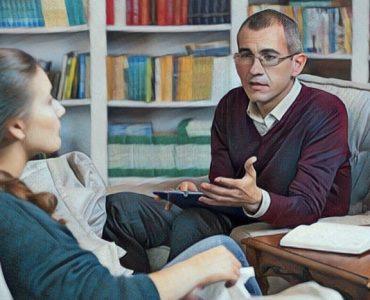 En la terapia con el psicólogo