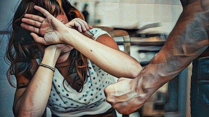 Una persona que sufre violencia doméstica