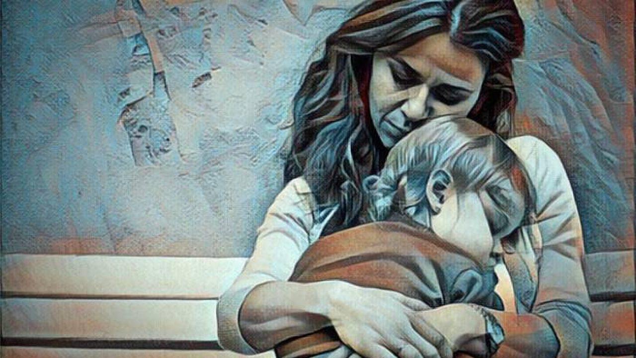 Los abrazos son el alimento emocional de los niños