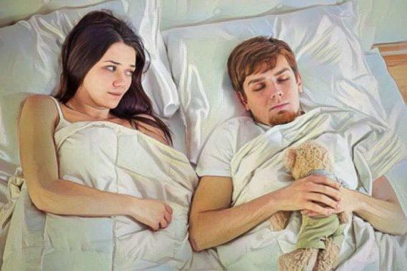 la pareja ve que su compañero tiene inmadurez emocional