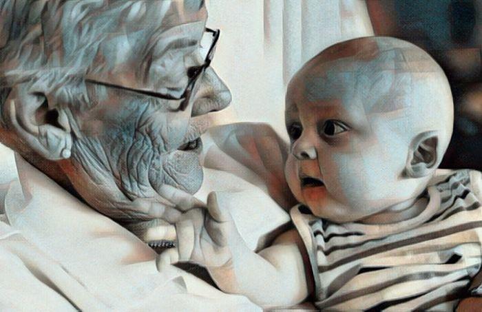 Conociendo la importancia de la abuela en la vida del nieto