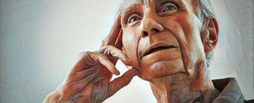 Persona mayor con signos de demencia frontotemporal