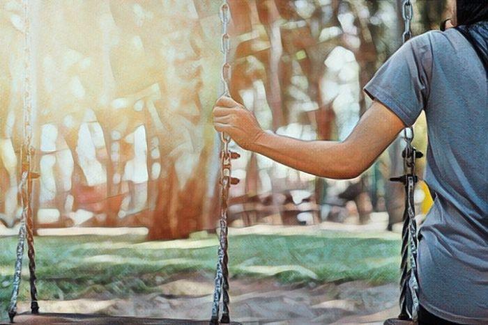 Persona que padece Eremofobia o miedo a la soledad