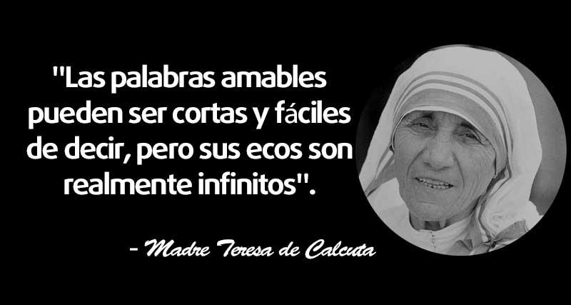 30 Frases De La Madre Teresa De Calcuta