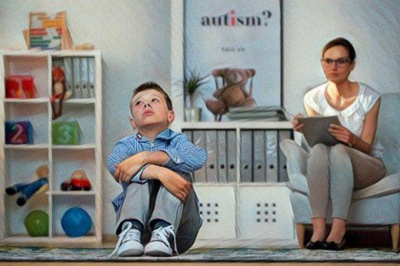 Niño con síndrome de Savant