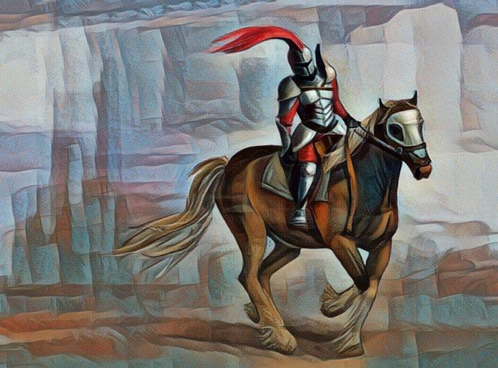 El Caballero De La Armadura Oxidada Transformación Y Conciencia