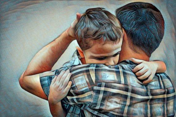 Los beneficios de disculparse con los niños