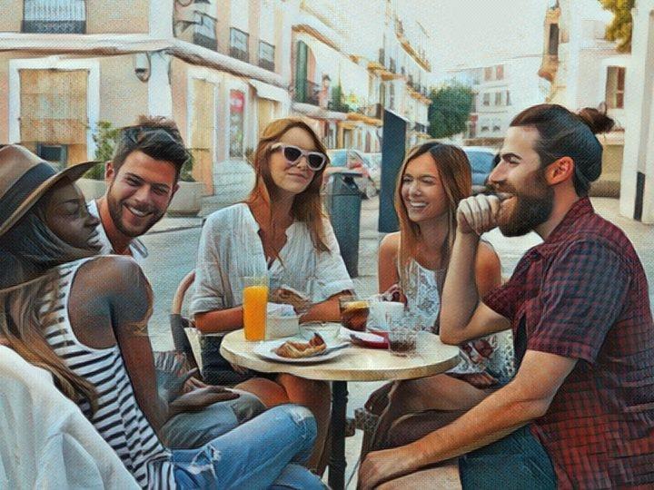 Grupo de Millennials en una reunión