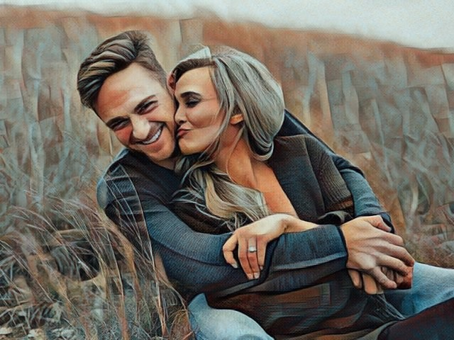 Relación de pareja con necesidades complementarias
