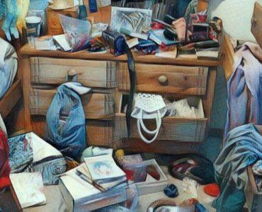 viviendo con desorden por problemas de acumulación compulsiva