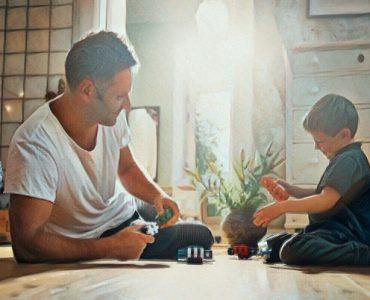 Padre presente en la vida de su hijo