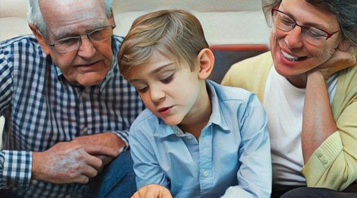 El papel de los abuelos tras el divorcio de los hijos