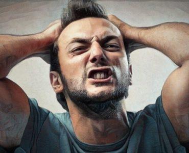 Persona al borde de un ataque de nervios