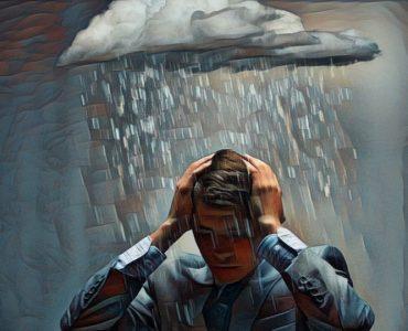 Una persona pesimista y sus inconvenientes