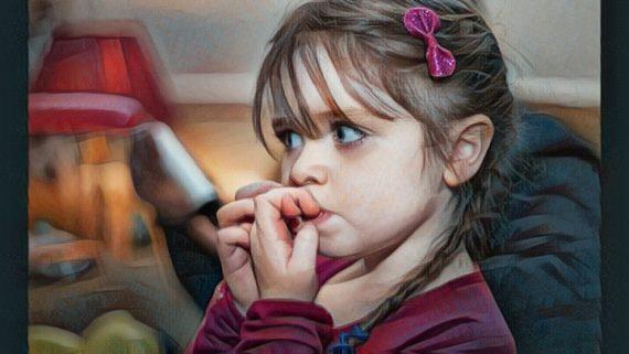 niña con trastorno de ansiedad