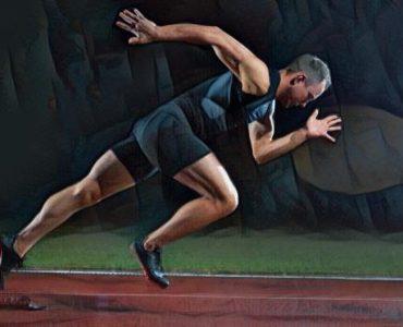 Atleta deporte de alto rendimiento