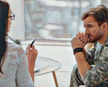 Soldado terapia exopsición realidad virtual por estrés postraumático