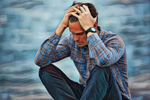 Una persona joven que sufre trastorno de ansiedad