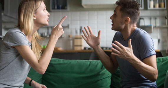Estar en una relación tóxica