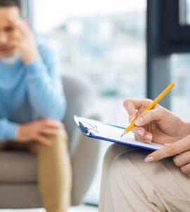 En la consulta con un psicólogo