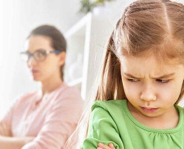 Una niña desobediente